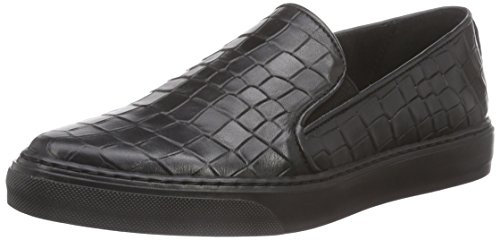 Bronx BmecX, Low-Top Sneaker donna Nero (Schwarz (black / 01))