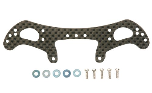 Limited Series HG AR chassis Carbon Rear wide stay four wheel drive mini (2mm) 94903
