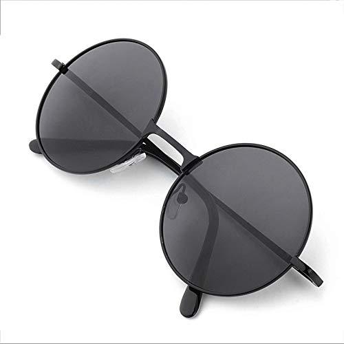 Peanutaso Sonnenbrille, Unisex, für Damen und Herren, modisch, Vintage, mit rundem Brillengestell