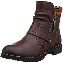 new product 4f6e3 6940a Suchergebnis auf Amazon.de für: jana stiefeletten rot