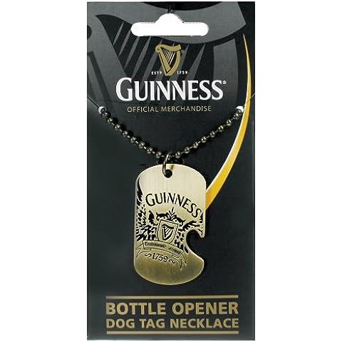 Guinness® Brass Dog Tag Bottle Opener