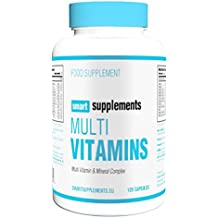 Smart Supplements Multi Vitaminas Suplemento - 120 Cápsulas
