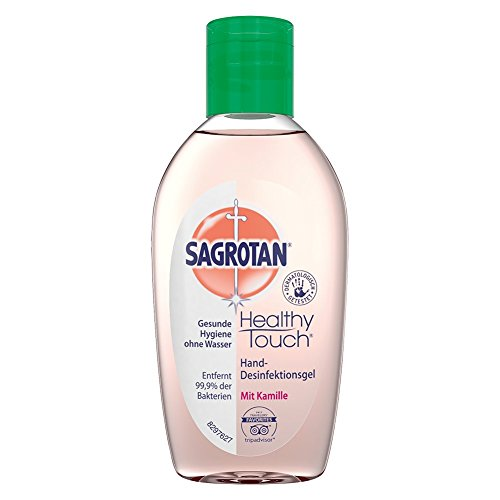 Sagrotan Hand-Desinfektions-Gel Kamille, 3er Pack (3 x 50 ml) (Antibakterielle Reinigung Seife)