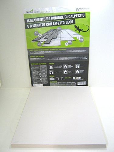 Trittschalldämmung Green Lignin Basic ca. 7 m² Biopolymer 15 Paneele