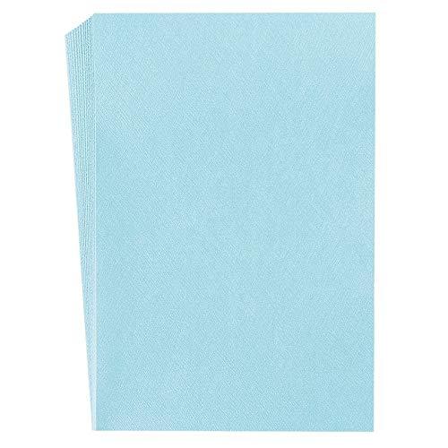 Bunte Edel-Faltpapiere Nova, mit Prägung und Perlmutt-Veredelung, 10x15 cm, 50 Stück | Bastelpapier, Stanzpapier, Dekopapier, Scrapbooking Papier (Nova 17)