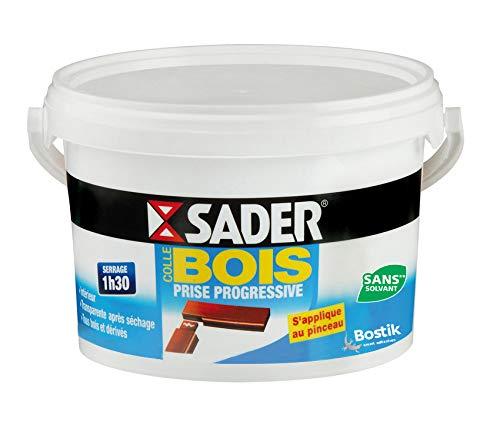 Sader 30041016 Colle à Bois Progressive, Translucide Après Séchage