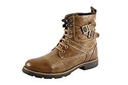 Bacca Bucci MenS Tan Leather Boot(10Uk)
