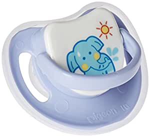 SILICONE PACIFIER STEP 2, ELEPHANT