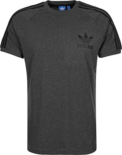adidas Men's T-Shirt California grey Dgreyh Size:Medium