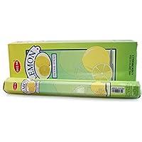 Räucherstäbchen Zitrone Lemon Marke HEM 6 Packungen preisvergleich bei billige-tabletten.eu