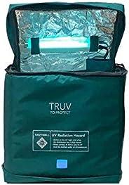 HOME 360 ® TRU-V | ICMR Empanelled Lab Certified Mins Portable UV Light Sterilizer Box (XL -32L) for Water Bot