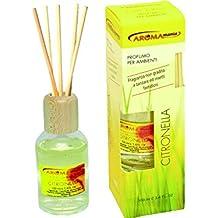 PROFUMO PER AMBIENTI con bastoncini diffusori d'aroma - CITRONELLA - 100 ml