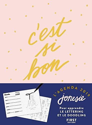 L'agenda 2019 Jonesie – C'est si bon par Jonesie