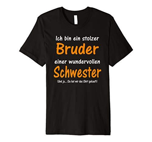 Bruder Schwester Familien Weihnachtsgeschenk Advent Shirt