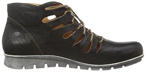 Think! Menscha Boot, Bottes Desert courtes, doublure froide femme Noir - Schwarz (SZ/K794 02)