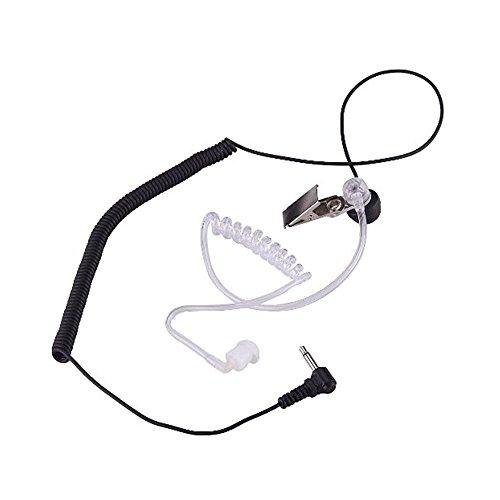 Hensych 3.5mm Hören Nur Headset Kopfhörer Ohrhörer für Funkgeräte Lautsprecher Mikrofon Lautsprechermikrofon 3.5 Mm Ohrhörer Ohrhörer