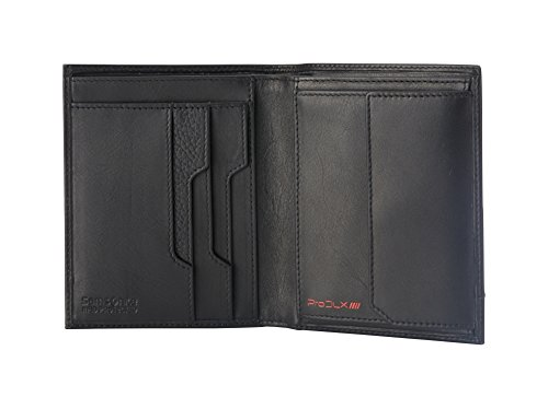 Billfold Coin Wallet (Samsonite - Prod-DLX 4S RFID Billfold 8CC+2COMP S 4CC+Coin+2C Münzbörse, 14 cm, Black)