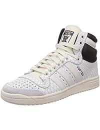 adidas Damen Top Ten Hi Basketballschuhe, Weiß