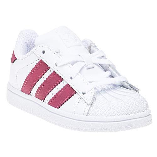 51d47ded4a28 adidas Unisex-Kinder Superstar I Sneaker, weiß   Shopping Amazon ...