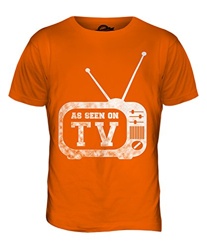 CandyMix As Seen On Tv Herren T Shirt Orange