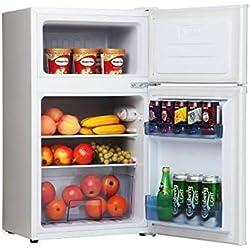 Frigelux rfdp97a+ - réfrigérateur congélateur haut - 71 l (49 + 22 l) - froid statique - a+ - l 48 x h 84 cm - blanc