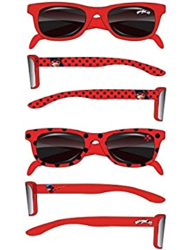 Miraculous Ladybug Occhiali da sole bambine ragazza rosso de 3 a 8 anni Protezione UV400