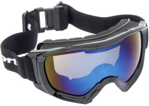 Ultrasport Ski-/Snowboardbrille - 100% UV-Schutz Race Edition, schwarz, 331300000081