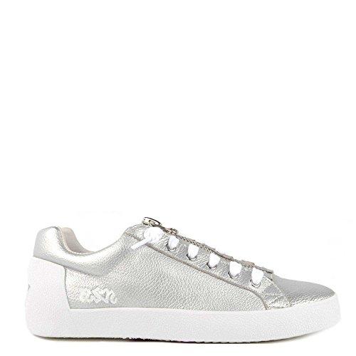 Ash Schuhe Nirvana Sneaker Silber Damen 40 Silber (Lace Boudoir Top)