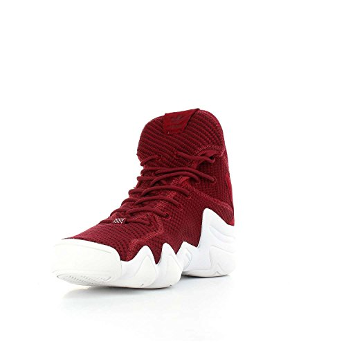 adidas Crazy 8 PK ADV, Scarpe da Fitness Uomo rosso (Buruni / Buruni / Ftwbla)