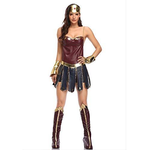 KILLM Erwachsene Kleidung des Weiblichen Supermanns des Halloween-Kostüms Magischen (Weibliche Superhelden Mit Schwarzen Kostüm)