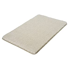 Kleine Wolke Relax Bath rug, Light Grey, 85 x 150 cm