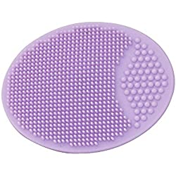 Healthandyoga Hypoallergenic Silicone Adult Face Exfoliator - Assorted Colors (Single)
