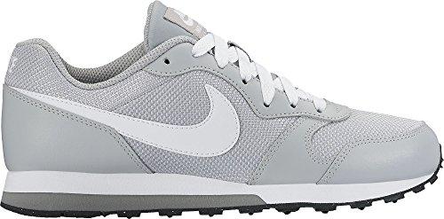 Nike Jungen Md Runner 2 (Gs) Laufschuhe Grau (Wolf Grey / White / Cool Grey / Black)