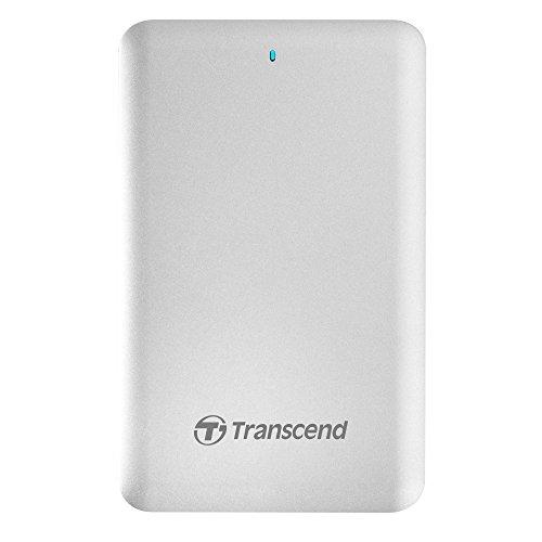 Transcend TS2TSJM300 HDD Esterno da 2TB Thunderbolt, USB 3.0, Bianco