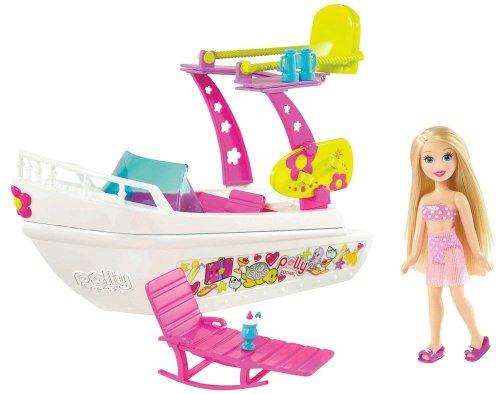 Mattel R4813-0 - Polly Pocket, Südsee-Abenteuer Boot