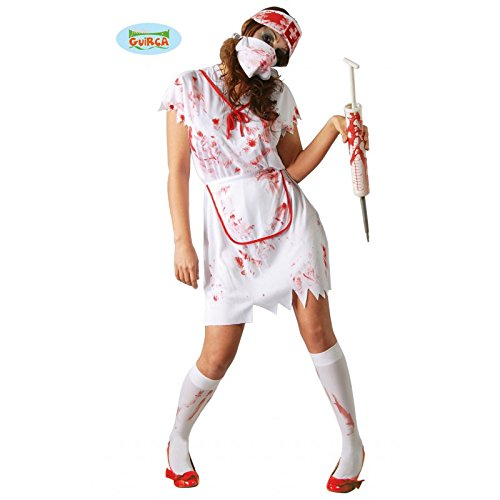 Krankenschwester Zombie, Erwachsene, Grösse L
