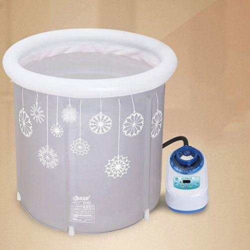 Mysida Bath Barrel Haushalts-Erwachsen-Bad-Fass-große verdickte konstante Temperatur-Massage-Bad-faltende aufblasbare Badewanne (größe : B)