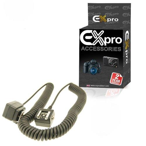 Ex-Pro SC-28 TTL Blitzen Schuh Remote Synch Cord passt Kompatibel mit / Ersatz für Nikon - 1.5m [Long Version] Sc-29 Remote