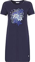 suchergebnis auf amazon de f�r pastunette nachtw�sche  pastunette 1081 335 3 445 women\u0027s indigo blue solid colour sleep shirt nighty