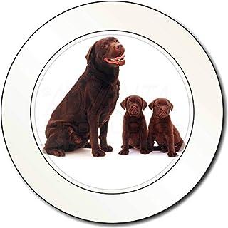 Chocolate Labrador Welpen AutovignetteGenehmigungsinhaber Geschenk