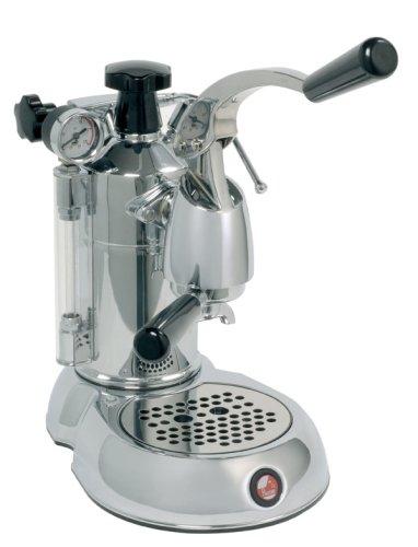 la Pavoni Stradivari SPL Independiente Semi-automática Máquina espresso 1.6L 16tazas Negro, Cromo - Cafetera (Independiente, Máquina espresso, 1,6 L, De café molido, 1000 W, Negro, Cromo)