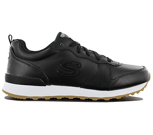 Skechers OG 85 Street Sneak Low 113-BLK Femmes Sneaker Noir Chaussures Femme Baskets Pointure: EU 37 UK 4