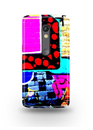 Moto X Play Cover,Moto X Play Case,Moto X Play Back Cover,Colorful Graffiti Moto X Play Mobile Cover By The Shopmetro-12462