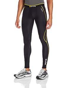Skins A200 Collant de compression Homme Noir/Jaune FR : XS (Taille Fabricant : XS)