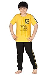 Designer Character Printed Night Dress T-Shirt And Track Sets For Sports & Summer Special