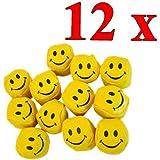 12erPack Jonglierbälle Smiley