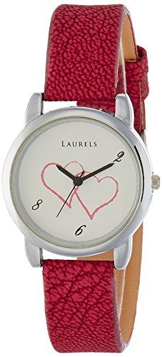 Laurels Original February Analog White Dial Women\'s Watch - Lo-Feb-101