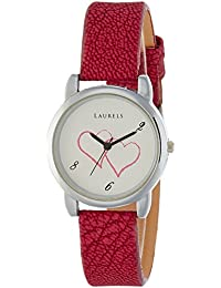 Laurels February Analog Silver Dial Women's Watch - Lo-Feb-101