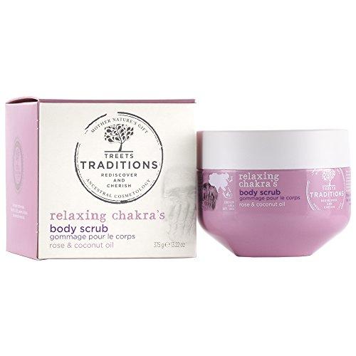 Treets Traditions Relaxing Chakra's Body Sugar Scrub, 1er Pack (1 x 375 g)