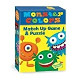 Best Peaceable Kingdom Kids Games - Match Up Game & Puzzle - Monster Colours Review